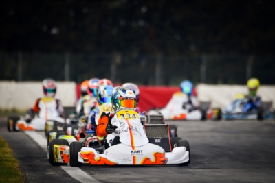 THE PROTAGONISTS OF QUALIFYING HEATS OF WSK SUPER MASTER SERIES IN LA CONCA