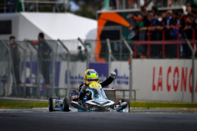 VICTORIES OF THE SECOND ROUND OF WSK SUPER MASTER SERIES TO LINDBLAD (OK), POWELL (OKJ) AND COSTOYA (MINI)