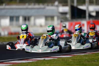 WSK in Live Streaming from Sarno for the third round of the Super Master Series Gallery