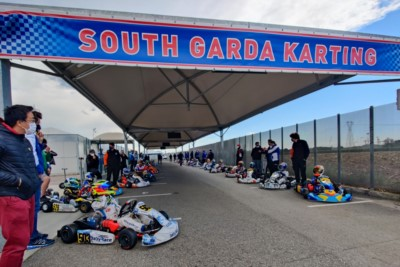 The WSK Euro Series ready to kick-off  from Lonato Gallery