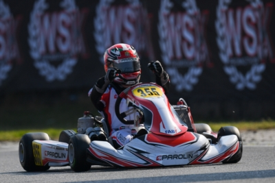 THE 2021 CHAMPIONS OF THE WSK SUPER MASTER SERIES