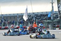 AT THE WSK CHAMPIONS CUP IN ADRIA, ARDIG� (I � TONY KART-VORTEX) IN KZ2, SARGEANT (USA - FA ALONSO-VORTEX) AND TRAVISANUTTO (I - TONY KART-VORTEX) IN OK ARE THE FIRST POLE-SITTERS.