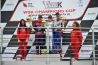 THE WSK CHAMPIONS CUP FINISHES AT THE ADRIA KARTING RACEWAY. THE WINNERS ARE DE CONTO (I � CRG-MAXTER) IN KZ2, SARGEANT (USA - FA ALONSO-VORTEX) IN OK, JEWISS (GB � RICCIARDO KART-PARILLA) IN OK JUNIOR AND PAPARO (I � IP KARTING-TM) IN 60 MINI.