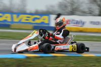 AFTER THE SEASON OPENER IN CASTELLETTO (I), THE FIRST LEADERS OF THE WSK SUPER MASTER SERIES STANDINGS ARE ABBASSE (F � SODI-TM KZ), PEX (NL - CRG-VORTEX KZ2), HILTBRAND (E � CRG-PARILLA OK), TAOUFIK (MA - FA-VORTEX OKJ) AND PIZZI (I � ENERGY-IAME 60MINI)