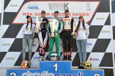 WSK SUPER MASTER SERIES IN SARNO (ITALY): VICTORIES FOR ARDIG� (I � TONY KART-VORTEX KZ), POLLINI (I - CRG-TM KZ2), TRAVISANUTTO (I - TONY-VORTEX OK), SHVETSOV (RUS - TONY-VORTEX OKJ) AND MIN� (I � ENERGY-TM 60MINI).