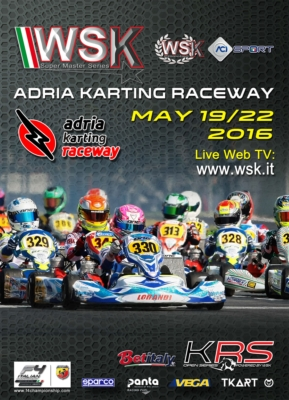 THE WSK SUPER MASTER SERIES 2016 IS APPROACHING ITS FINALE. THE LAST EVENT OF THE SERIES IS ON SCHEDULE AT THE ADRIA KARTING RACEWAY (ROVIGO � I), FROM 19TH TO 22ND MAY WITH THE CATEGORIES 60 MINI, OK JUNIOR, OK, KZ AND KZ2.