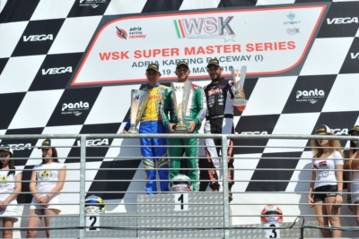 GREAT FINALE OF THE WSK SUPER MASTER SERIES IN ADRIA (I)