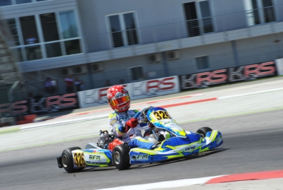THE WSK SUPER MASTER SERIES ENDED IN ADRIA WITH THE SUCCESS OF ARDIG� (I � TONY KART-VORTEX KZ), LORANDI (I � TONY-VORTEX KZ2), TRAVISANUTTO (I � TONY-VORTEX OK), TAOUFIK (MA � FA KART-VORTEX OKJ) AND PAPARO (I � IP KARTING-TM 60MINI).