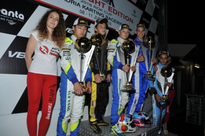 LA WSK NIGHT EDITION CONCLUDE CON SUCCESSO LE SUE NOTTI DI GARA ALL�ADRIA KARTING RACEWAY DI ADRIA (RO)