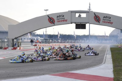 LA WSK FINAL CUP È IN ARRIVO ALL'ADRIA KARTING RACEWAY PER CONCLUDERE LA STAGIONE DI GARE DI WSK PROMOTION CON LE CATEGORIE KZ2 - OK - OK JUNIOR E 60 MINI. Gallery