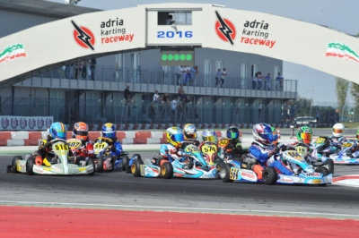 WSK PROMOTION ANNOUNCES THE FORTHCOMING EVENTS OF THE 2017 SEASON, WHICH WILL START AT THE ADRIA KARTING RACEWAY WITH A BRAND-NEW SCORING SYSTEM.