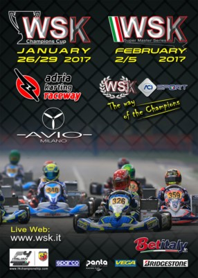 200 DRIVERS ARE EXPECTED TO TAKE PART IN THE WSK CHAMPIONS CUP AT THE WEEKEND OF 29TH JANUARY. Gallery