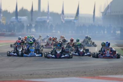 ADRIA IS GOING TO HOST ANOTHER UNMISSABLE WEEKEND WITH THE WSK SUPER MASTER SERIES, SCHEDULED FROM 2ND TO 5TH FEBRUARY. 250 ENTRANTS TO THE FOUR CATEGORIES TAKING PART IN THE EVENT: KZ2, OK, OKJ AND 60 MINI.