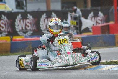 FIRST POLE POSITIONS AT THE WSK SUPER MASTER SERIES IN CASTELLETTO DI BRANDUZZO (I) FOR ABBASSE (F – SODI-TM KZ2) AND HILTBRAND (E – TONY KART-VORTEX OK). GOOD PERFORMANCE FOR  DOOHAN (AUS – FA KART-VORTEX) IN OKJ AND MINÌ (I – PAROLIN-TM) IN 60 MINI. Gallery