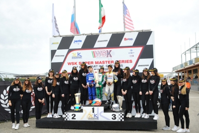 THE WINNERS OF THE SECOND ROUND OF THE WSK SUPER MASTER SERIES IN CASTELLETTO (I) ARE NOVALAK (GB – TONY KART-VORTEX) IN OK, LAMMERS (NL – SODI-TM) IN KZ2, ROSSO (I – TONY KART-VORTEX) IN OK JUNIOR AND ANTONELLI (I – TONY KART-VORTEX) IN 60 MINI.