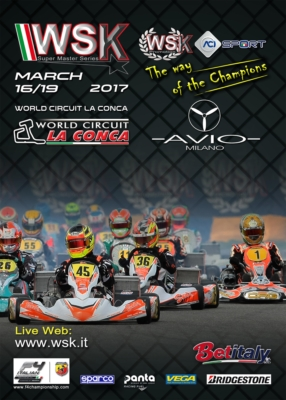 THE WORLD CIRCUIT LA CONCA IN MURO LECCESE (I) IS READY TO HOST THE 3RD ROUND OF THE WSK SUPER MASTER SERIES FROM 16TH TO 19TH MARCH. THE DRIVERS OF 60MINI, OKJ, OK AND KZ2 ARE EAGER TO GET ON TRACK TO CHALLENGE EACH OTHER.