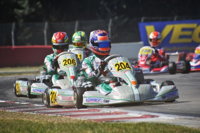 BREATH-TAKING RACES AT THE WSK SUPER MASTER SERIES IN MURO LECCESE: THE TOP DRIVERS OF THE HEATS ARE HAJEK (KOSMIC-VORTEX KZ2), NOVALAK (TONY KART-VORTEX OK), EDGAR (EXPRIT-TM OKJ) AND MINÌ (PAROLIN-TM 60MINI).