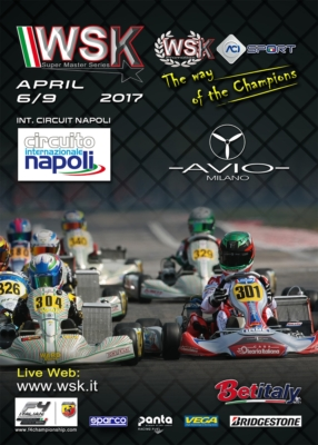 THE INTERNATIONAL CIRCUIT NAPOLI IN SARNO (I) HOSTS THE FINAL ROUND OF THE WSK SUPER MASTER SERIES 2017. FROM 6TH TO 9TH APRIL, DRIVERS AND TEAMS OF THE FOUR CATEGORIES 60 MINI, OKJ, OK AND KZ2 ARE READY FOR THE FINAL SPRINT TOWARDS VICTORY.