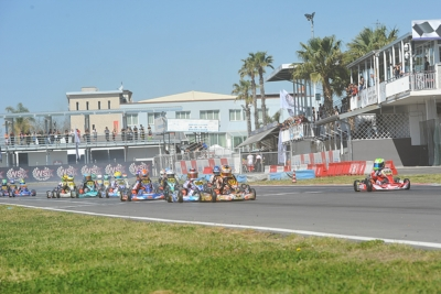 THE WSK SUPER MASTER SERIES IS NEARLY ARRIVED AT ITS FINAL DAY AT THE INT. CIRCUIT NAPOLI IN SARNO (SA). THE POLE-SITTERS ARE PUHAKKA (KOSMIC-VORTEX KZ2), BASZ (KOSMIC-VORTEX OK), ROSSO (TONY KART-VORTEX OKJ) AND MINÌ (PAROLIN-TM 60MINI).
