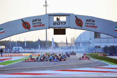213 DRIVERS AT THE WSK FINAL CUP, TODAY IN ADRIA (I). POLE POSITIONS IN QUALIFYING FOR DOOHAN (AUS – FA-VORTEX OK), LORANDI (I – TONY KART-VORTEX KZ2), EDGAR (GB – EXPRIT-TM OKJ) AND SPINA (I – CRG-TM 60 MINI).