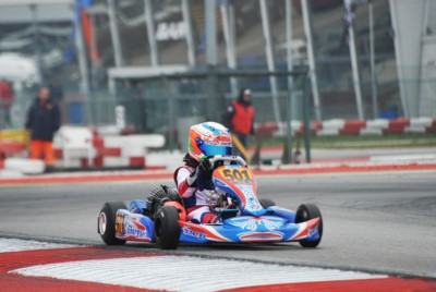 WSK CHAMPIONS CUP IN ADRIA: POLE POSITION TO NIELSEN (DK – TONY KART-VORTEX OK), MINÌ (I – PAROLIN-PARILLA OKJ) AND SKARAS (CZ – ENERGY-TM KZ2). ANTONELLI (I – ENERGY-TM) AND STENSHORNE (N – PAROLIN-TM) QUICKEST IN 60 MINI. Gallery