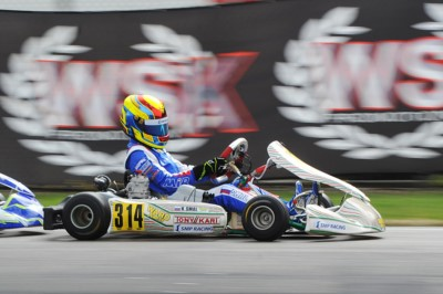 WSK SUPER MASTER SERIES HEADING FROM MURO LECCESE TO SARNO WITH THE FOLLOWING LEADERS: DE CONTO (I – CRG-TM KZ2), JANKER (D – KR-PARILLA OK), SMAL (RUS – TONY KART-VORTEX OKJ) AND STENSHORNE (N - PAROLIN-TM 60 MINI). Gallery