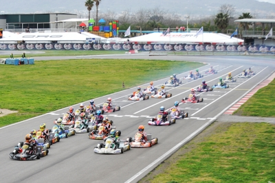 FIGHTS FOR THE VICTORY ARE ON IN SARNO (SA) AT THE WSK SUPER MASTER SERIES: ARDIGÒ (I - TONY KART-VORTEX KZ2), BORTOLETO (BR – CRG-TM OKJ), NIELSEN (DK – TONY KART-VORTEX OK) AND STENSHORNE (N – PAROLIN-TM 60 MINI) SHINING IN THE HEATS.