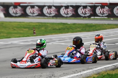 FIGHTS FOR THE VICTORY ARE ON IN SARNO (SA) AT THE WSK SUPER MASTER SERIES: ARDIGÒ (I - TONY KART-VORTEX KZ2), BORTOLETO (BR – CRG-TM OKJ), NIELSEN (DK – TONY KART-VORTEX OK) AND STENSHORNE (N – PAROLIN-TM 60 MINI) SHINING IN THE HEATS. Gallery