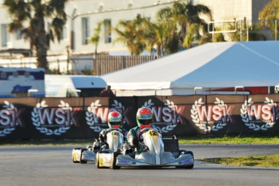 WSK SUPER MASTER SERIES READY TO RACE IN SARNO: POLE POSITIONS OF THE 4TH AND CLOSING ROUND GOING TO VIGANÒ (I – TONY KART-VORTEX KZ2), MALONEY (BRB – FA KART-VORTEX OK), SPINA (I – CRG-TM OKJ) AND MATVEEV (I - CRG-TM 60MINI). Gallery
