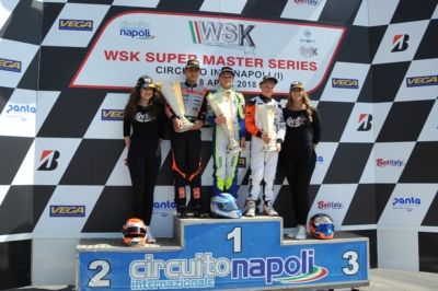 GREAT RACES AT WSK SUPER MASTER SERIES IN SARNO: RACE VICTORY AND CLASSIFICATION LEAD FOR ARDIGÒ (I – TONY KART-VORTEX KZ2), JANKER (D – KR-PARILLA OK) AND STENSHORNE (N - PAROLIN-TM 60MINI). OKJ RACE VICTORY TO ARON (EST – FA KART-VORTEX), BUT MINÌ (PARO