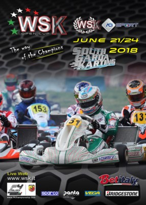 WSK PROMOTION IS PREPARING ITS WSK OPEN CUP. ENTRIES ARE NOW ACCEPTED FOR THE EVENT THAT WILL TAKE PLACE AT THE SOUTH GARDA KARTING CIRCUIT IN LONATO (BS) FROM JUNE 21ST TO 24TH, 2018. Gallery
