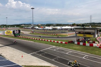 THE WSK OPEN CUP WEEKEND IS UNDERWAY WITH 225 DRIVERS ENTERED IN THE SINGLE-ROUND EVENT THAT WILL RUN ITS GRAND FINALE ON SUNDAY JUNE 24TH. Gallery