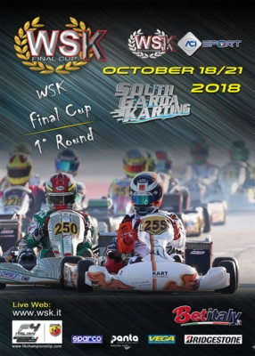 THE ENTRY LIST OF WSK FINAL CUP TO OPEN ON FRIDAY SEPTEMBER 21ST. THE NEW FORMULA OF THE SERIES FEATURING 3 ROUNDS WILL KICK OFF FROM THE SOUTH GARDA KARTING IN LONATO (BS) ON OCTOBER 21ST.