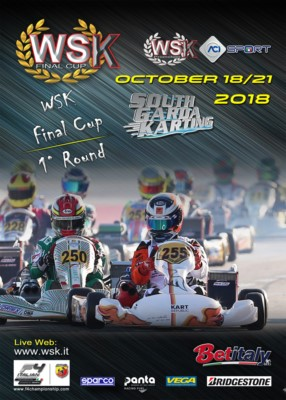 THE ENTRY LIST OF WSK FINAL CUP TO OPEN ON FRIDAY SEPTEMBER 21ST. THE NEW FORMULA OF THE SERIES FEATURING 3 ROUNDS WILL KICK OFF FROM THE SOUTH GARDA KARTING IN LONATO (BS) ON OCTOBER 21ST. Gallery