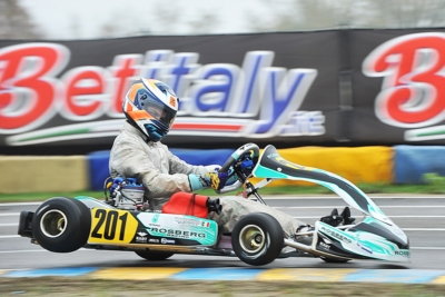 WSK FINAL CUP ROUND TWO IN CASTELLETTO (PV): BADOER (I – PAROLIN-TM 60 MINI), SMAL (RUS – TONY KART-VORTEX OKJ), RENAUDIN (F – SODI-TM KZ2) AND TRAVISANUTTO (I – KR-PARILLA OK) THE BEST SO FAR.