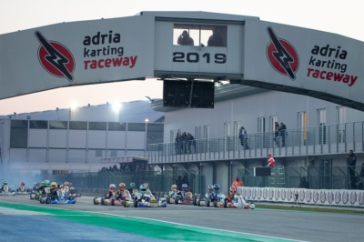 THE QUICKEST DRIVERS IN QUALIFYING KICKED OFF WSK CHAMPIONS CUP: AT THE ADRIA KARTING RACEWAY BARNARD (GB – KR-IAME OK), WHARTON (AUS FA-VORTEX OKJ) AND ORLOV (RUS – PAROLIN-TM 60MINI) TO THE FORE.