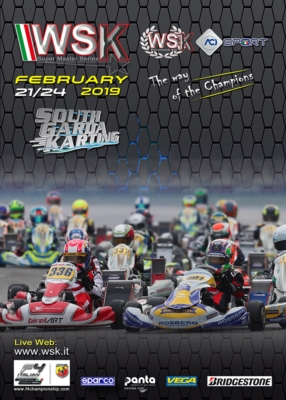WSK SUPER MASTER SERIES HEADING TO LONATO (BS) FOR THE SECOND ROUND OF 2019 FROM FEBRUARY 21ST TO 24TH. KZ2 WILL JOIN OK, OK JUNIOR AND 60 MINI THIS TIME AROUND.