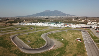 CAMPLESE (I – TONY KART-VORTEX KZ2), PATTERSON (GB – KR-IAME OK), TAPONEN (FIN – KOSMIC-IAME OKJ) AND MACINTYRE (GB – PAROLIN-TM 60MINI) GOT OFF TO A GOOD START AT THE 4TH ROUND OF WSK SUPER MASTER SERIES IN SARNO (I).