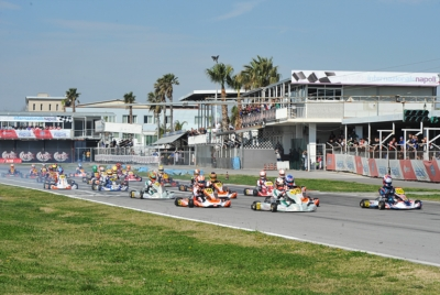 WSK SUPER MASTER SERIES HEADING TO ITS CHEQUERED FLAG AS ARDIGÒ (I – TONY KART-VORTEX KZ2), VAN HOEPEN (NL – FA KART-VORTEX OKJ), PATTERSON (GB – KR-IAME OK) AND AL DHAHERI (ARE – PAROLIN-TM 60MINI) WERE THE QUICKEST IN QUALIFYING HEATS.