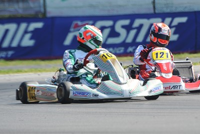 WSK SUPER MASTER SERIES HEADING TO ANGERVILLE (F) ON APRIL 28TH WITH THE NEW LEADERS: BEGANOVIC (S – TONY KART-VORTEX OK), BEDRIN (RUS – TONY KART-VORTEX OKJ) AND MACINTYRE (GB – PAROLIN-TM 60MINI). Gallery