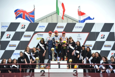 IMPORTANT WIN FOR TRAVISANUTTO (I - KR-IAME OK), ANTONELLI (I – KR-IAME OKJ) AND MACINTYRE (GB – PAROLIN-TM 60MINI) IN WSK EURO SERIES, ROUND 2 IN ANGERVILLE (F).