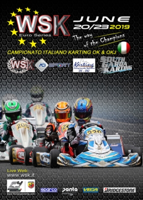 WSK EURO SERIES ALL SET FOR A GREAT WEEKEND IN LONATO (I): THE PENULTIMATE ROUND OF CATEGORIES OK, OKJ AND 60 MINI AND CLOSER FOR KZ2 TO TAKE PLACE FROM JUNE 20TH TO 23RD.