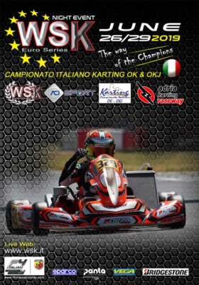 OVERNIGHT FINAL EVENT IN ADRIA FOR WSK EURO SERIES: THE PROVISIONAL LEADERS ARE TRAVISANUTTO (I – KR-IAME OK), ANTONELLI (I – KR-IAME OKJ) AND MACINTYRE (GB – PAROLIN-TM 60MINI) AMONG THE 180 ENTERED DRIVERS. FINISH LINE ON THE ACISPORT OK AND OKJ ITALIAN