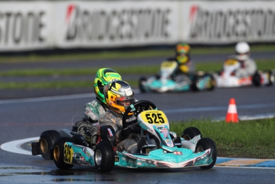 THE RACE FOR THE VICTORY OF WSK OPEN CUP KICKED OFF TODAY WITH QUALIFYING PRACTICE IN CASTELLETTO DI BRANDUZZO (I). VAN'T HOFF (NL – EXPRIT-TM OK), BERGMAN (S – TONY KART-VORTEX OKJ) AND IGLESIAS (F – IPK-TM 60 MINI) CAME TO THE FORE SO FAR.