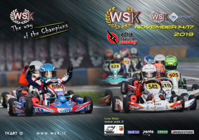 203 DRIVERS EXPECTED AT THE WSK FINAL CUP AT THE ADRIA KARTING RACEWAY. THE INTERNATIONAL KARTING PROMOTED BY WSK AT ADRIA FROM 14TH TO 17TH NOVEMBER FOR THE LAST EVENT OF THE 2019 SEASON.