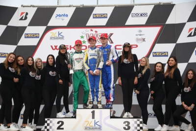 THE WSK OPEN CUP ENDED IN CASTELLETTO (PV) WITH THE FINAL VICTORY GOING TO BARNARD (GB – KR-IAME) IN OK, ANTONELLI (I – KR-IAME) IN OKJ AND TSOLOV (BG – PAROLIN-TM) IN 60 MINI.