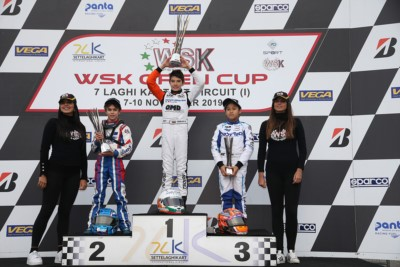 THE WSK OPEN CUP ENDED IN CASTELLETTO (PV) WITH THE FINAL VICTORY GOING TO BARNARD (GB – KR-IAME) IN OK, ANTONELLI (I – KR-IAME) IN OKJ AND TSOLOV (BG – PAROLIN-TM) IN 60 MINI. Gallery