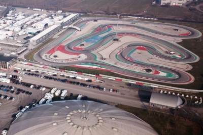 THE OPENER OF WSK SUPER MASTER SERIES IN ADRIA WITH 220 DRIVERS