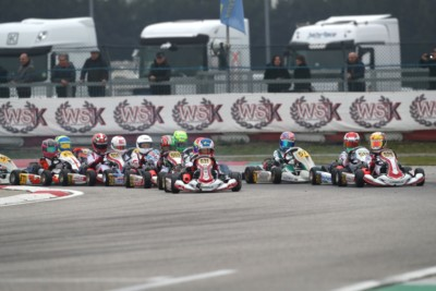 SMAL, LINDBLAD AND FOTEEV ARE THE EARLY LEADERS OF WSK SUPER MASTER SERIES AFTER HEATS IN ADRIA Gallery
