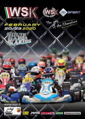 MORE THAN 360 ENTERED DRIVERS IN LONATO FOR THE SECOND RACE OF WSK SUPER MASTER SERIES
